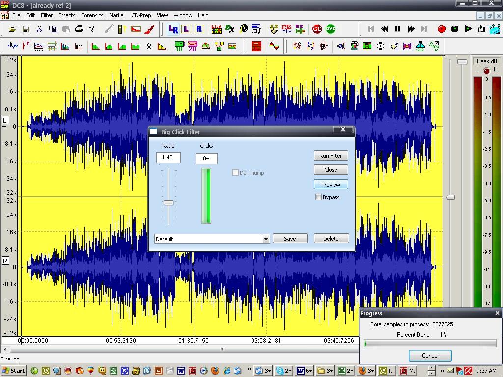 DC EIGHT Audio Restoration, Noise Reduction, Audio Editing, Audio