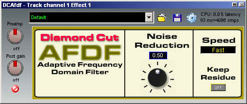 DCVSTAFDF Automatic Forensics Adaptive Filter Plug In