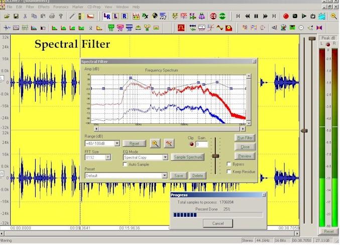 DC LIVE DC LIVE/Forensics, Audio Forensics software